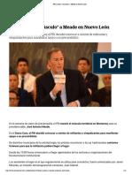 07-02-18 PRI muestra  músculo a Meade en Nuevo León