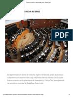 07-02-18 Realizan cambios en la integración del Senado - Televisa News