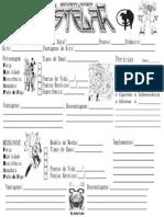 3D&T Alpha - Brigada Ligeira Estelar - Ficha de Personagem (v. Junior Lobo) - Biblioteca Élfica