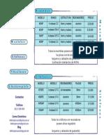 Hefesto Lista de Precios 2015 Pagina 1