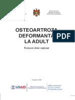 Osteoartroza Deformanta La Adult