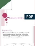 Patología Multifactorial