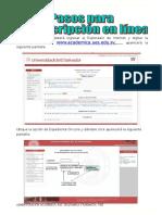 Instructivo Para Inscribir On_line QQ y FF-2016