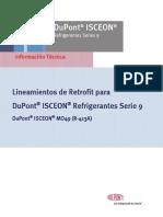 Isceon49 Retrofit Guidelines