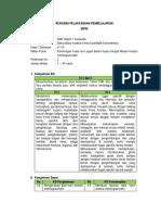 RPP Perhitungan Kadar Ion Logam Dalam Sampel Melalui Analisis Elektrogravimetri