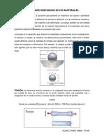 Tarea 1. Propiedades Mecanicas de Los Materiales