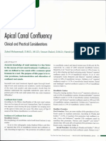 Apical Canal Confuency