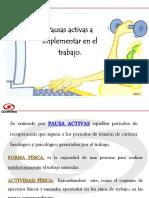 PAUSAS ACTIVAS TRABAJANDO