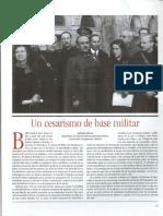 Antonio Elorza. Un cesarismo de base militar.