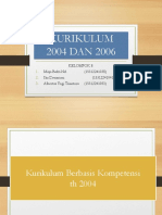 Kelompok 8 Kurikulum 2004 & 2006