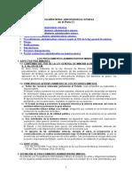 Los Procedimientos Administrativos Mineros en El Peru