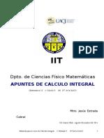 Calc Integral Material 1a y 2a. U 54 Pags Al 4 Sept 2011