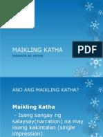 Maikling Katha