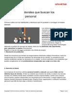 9 Habilidades Trabajo Buscan Reclutadores Personal