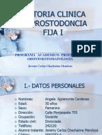 Historia Clinica Prostodoncia Fija