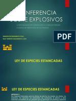 Conferencia Sobre Explosivos