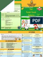 Buku Program Hari Kanak kanak