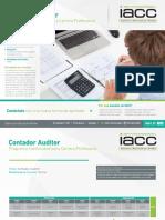 Programa de Continuidad Contador Auditor
