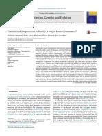 2015 Genomics of Streptococcus Salivarius, A Major Human Commensal