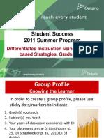 Di Instructional Module 2011
