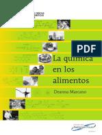 La Química de Los Alimentos - Deanna Marcano