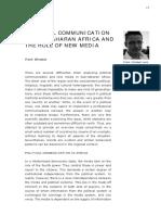 PolCom in Sub Saharan Africa