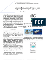 Vibration Analysis of an Alstom Typhoon Gas Turbine Power Plant Related to Iran Oil Industry