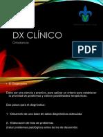 Ortodoncia Dx Clinico