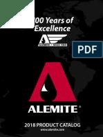 2018 Alemite Product Catalog