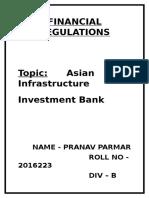 Financial Regulations Project Final