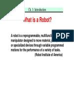 Ch1 Introduction to robotics
