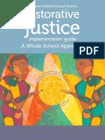 standard 7b - oakland restorative justice implementation guide
