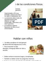 3 y 5 Entrevista Con Niños