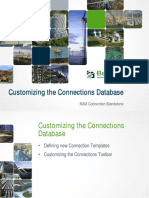 CustomizingTheConnectionsDatabase TRNC01731 1 0001 PPT