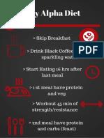 7 Day Alpha Diet