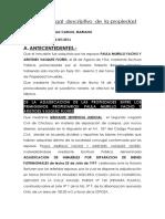 Informe Legal de Propiedad