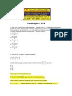 Analise Combinatoria Combinacao 2016
