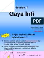 Session-2 Gaya Inti