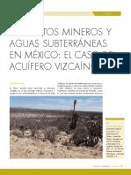 Proyectos Mineros y Aguas Subterraneas.