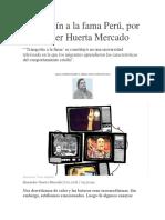 Trampolín a La Fama Perú - Alexander Huerta Mercado