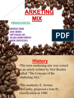 Marketting Mix - Barista