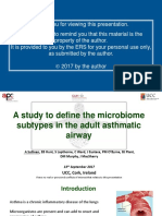 4676 - A Study to Define Microbiome Subtypes In