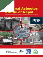 National Abestos Profile of Nepal