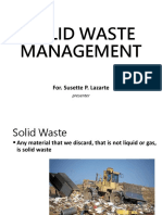Solid Waste Management Ppt Ni Susette