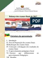 Informe Aproveitamento Pedaógico - 2017