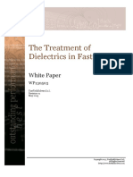 The Treatment of Dielectrics in FasterCap WP130527 R01