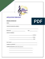 Spyc App Form