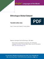 Ethnologue 20 Global Dataset Doc
