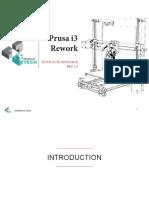 prusa i3 rework
