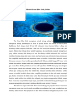 Misteri Great Blue Hole, Belize